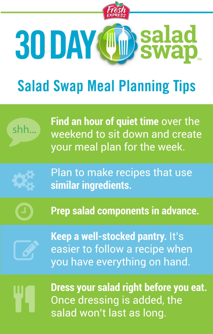 Salad Swap Meal Planning Tips image