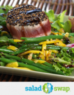 Peppercorn-Crusted Ahi Tuna Salad