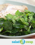 Baked Lemon Tilapia with Crispy Kale Chips