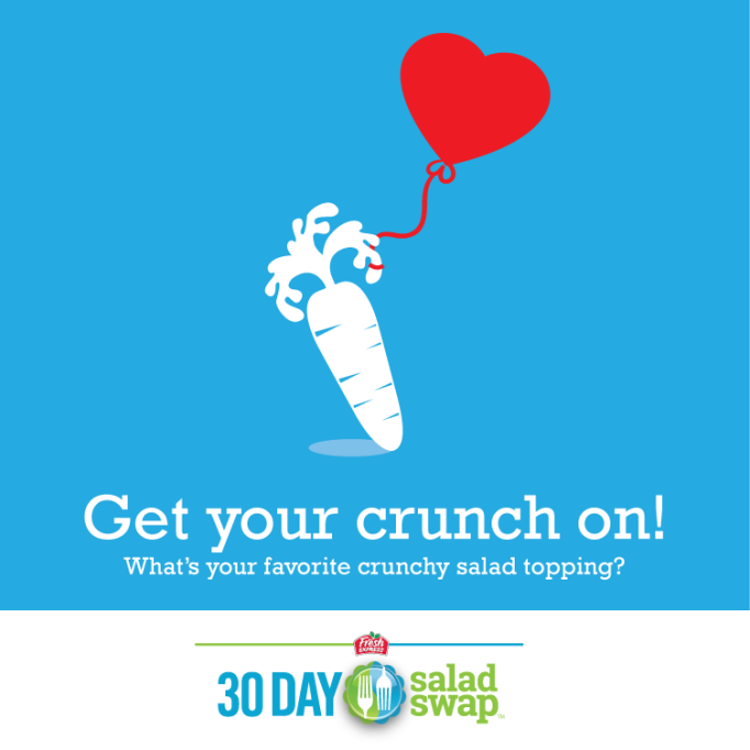 30 Day Salad Swap Crunch in Salads